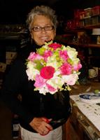 BLOOMS Terri in Studio Floral Designer Terri Maclay